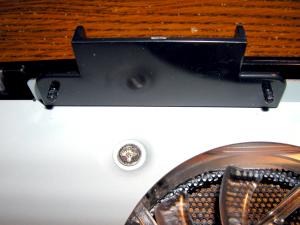 Hard disk holding pins.