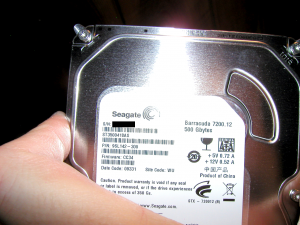 The disk.