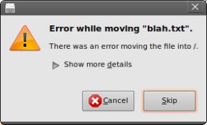 Ubuntu Permission Denied