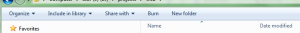 Windows 7 Explorer's Toolbar