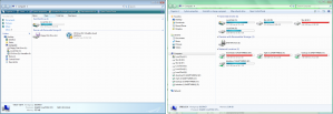 Windows Explorer Comparison
