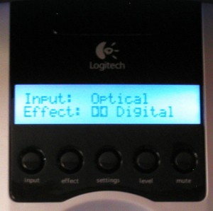 Logitech z5500 Dolby Digital