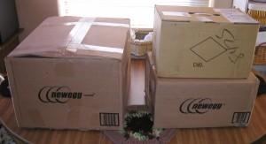 Boxes, boxes, boxes.